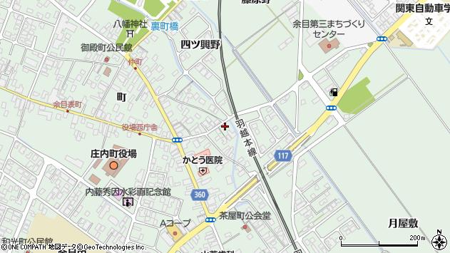山形県東田川郡庄内町余目町37周辺の地図