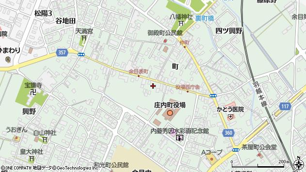 山形県東田川郡庄内町余目町146周辺の地図