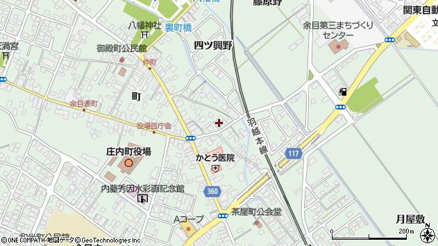 山形県東田川郡庄内町余目町55周辺の地図
