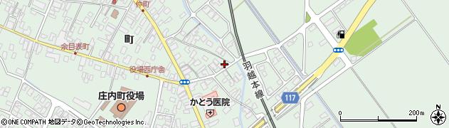 山形県東田川郡庄内町余目町54周辺の地図