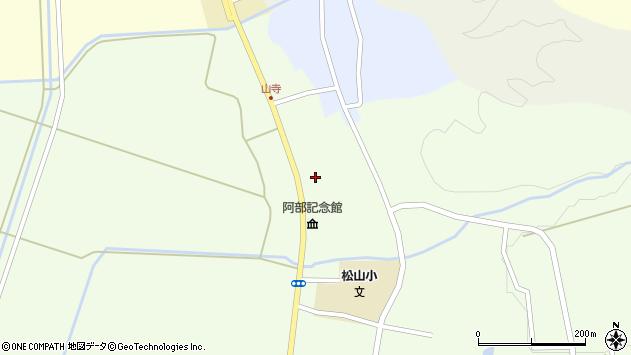 山形県酒田市山寺宅地203周辺の地図