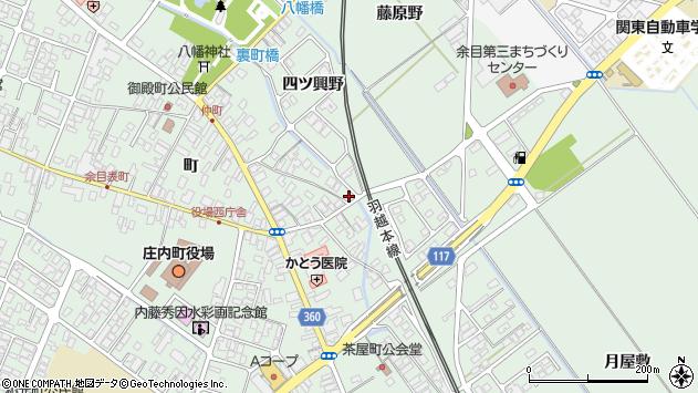 山形県東田川郡庄内町余目町39周辺の地図