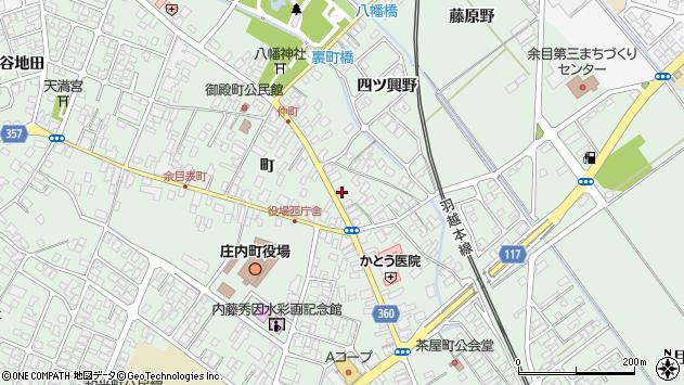 山形県東田川郡庄内町余目町64周辺の地図