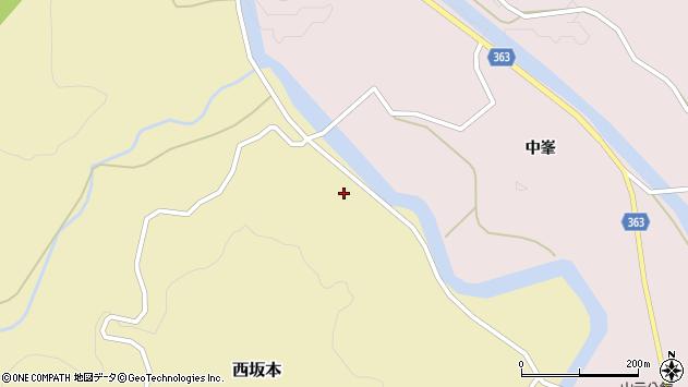 山形県酒田市西坂本楯前2周辺の地図