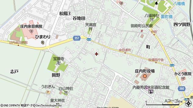 山形県東田川郡庄内町余目町180周辺の地図