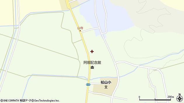 山形県酒田市山寺宅地204周辺の地図