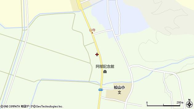山形県酒田市山寺宅地208周辺の地図