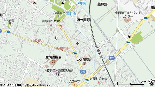 山形県東田川郡庄内町余目町48周辺の地図