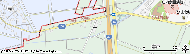 山形県東田川郡庄内町余目竹畑4周辺の地図