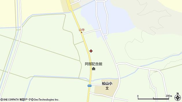 山形県酒田市山寺宅地207周辺の地図