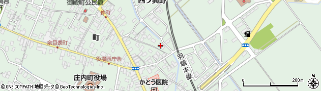 山形県東田川郡庄内町余目町42周辺の地図