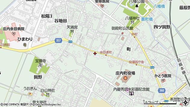 山形県東田川郡庄内町余目町163周辺の地図