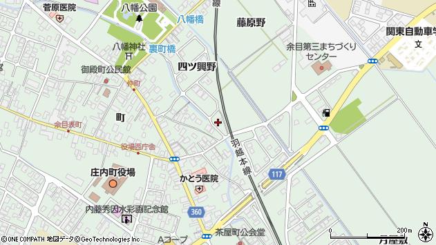 山形県東田川郡庄内町余目四ツ興野60周辺の地図