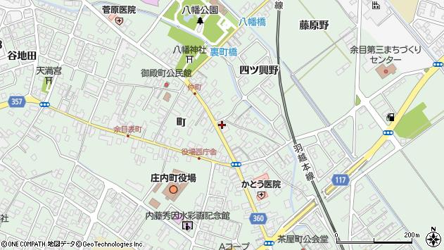 山形県東田川郡庄内町余目町67周辺の地図