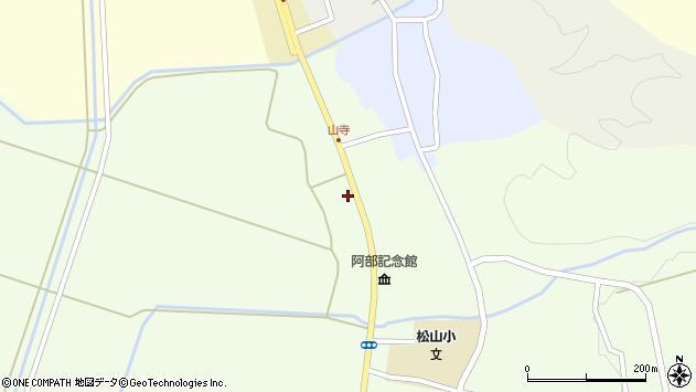 山形県酒田市山寺宅地215周辺の地図