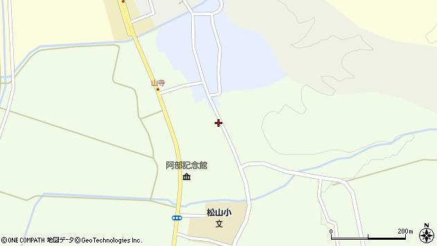 山形県酒田市山寺笹山131周辺の地図