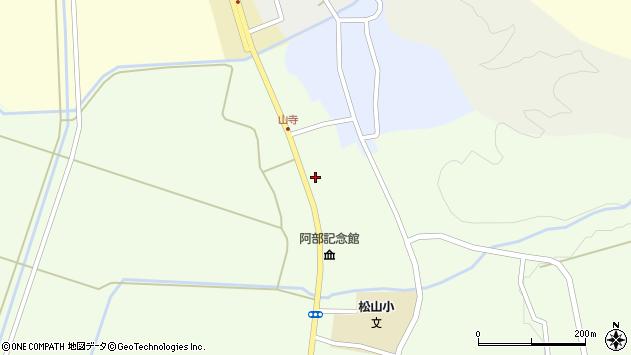 山形県酒田市山寺宅地214周辺の地図