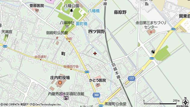 山形県東田川郡庄内町余目町45周辺の地図
