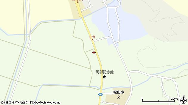 山形県酒田市山寺宅地216周辺の地図