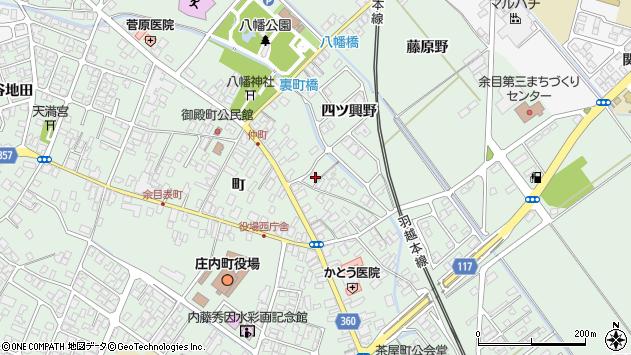 山形県東田川郡庄内町余目町71周辺の地図