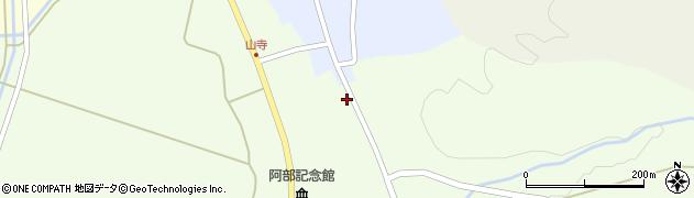 山形県酒田市山寺笹山132周辺の地図