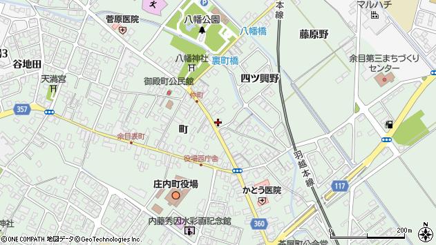 山形県東田川郡庄内町余目町68周辺の地図
