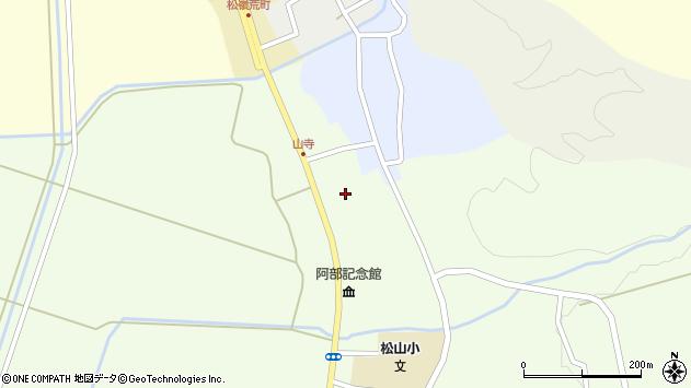 山形県酒田市山寺宅地217周辺の地図