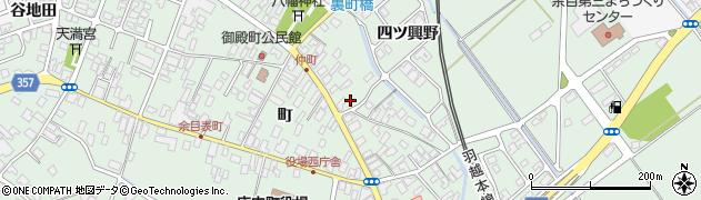 山形県東田川郡庄内町余目町69周辺の地図