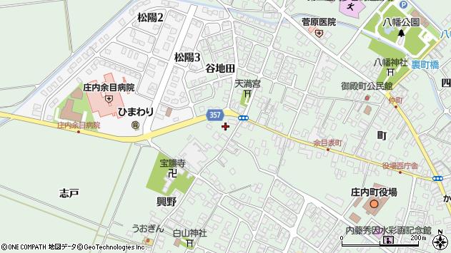 山形県東田川郡庄内町余目町307周辺の地図