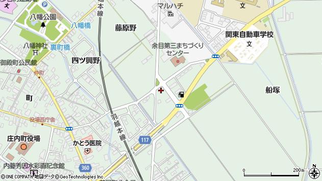 山形県東田川郡庄内町余目月屋敷100周辺の地図