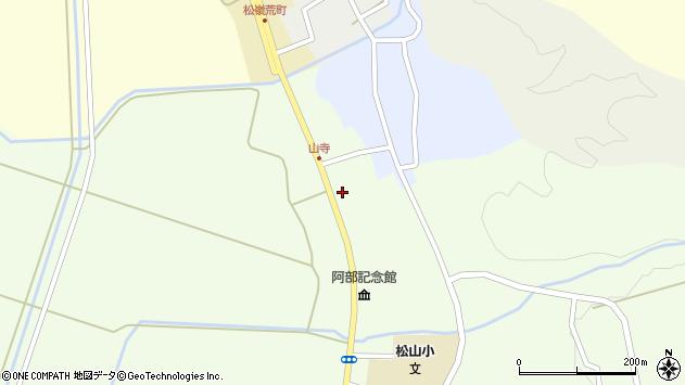 山形県酒田市山寺宅地221周辺の地図