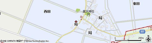 山形県酒田市局局66周辺の地図