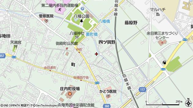 山形県東田川郡庄内町余目町79周辺の地図