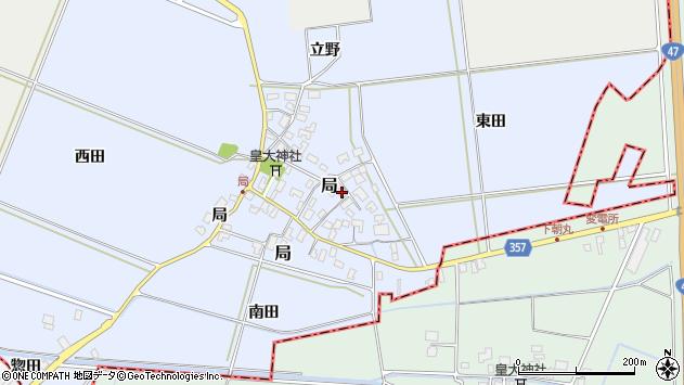 山形県酒田市局局15周辺の地図