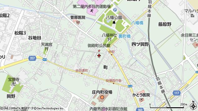 山形県東田川郡庄内町余目町216周辺の地図