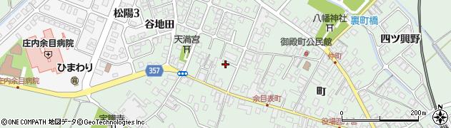 山形県東田川郡庄内町余目町205周辺の地図