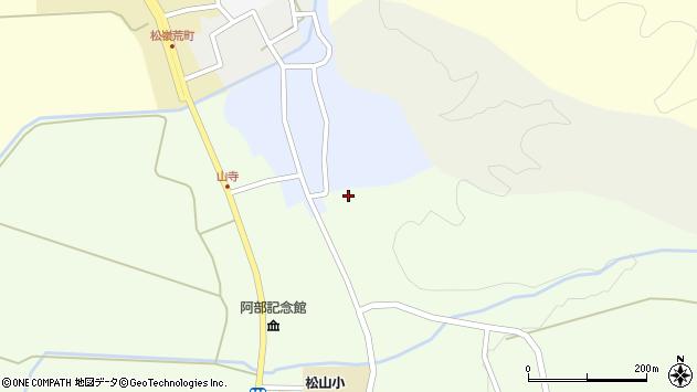 山形県酒田市山寺笹山134周辺の地図