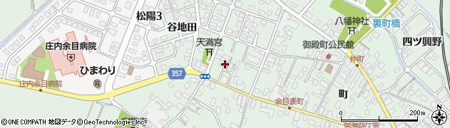 山形県東田川郡庄内町余目町182周辺の地図