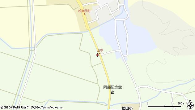 山形県酒田市山寺宅地232周辺の地図