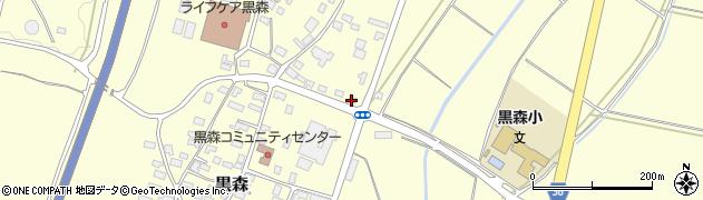 山形県酒田市黒森鏥16周辺の地図