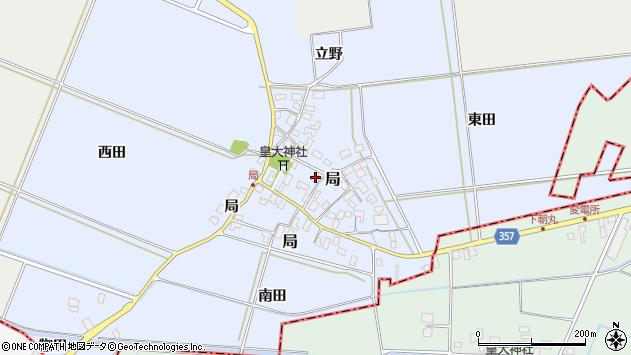 山形県酒田市局局30周辺の地図