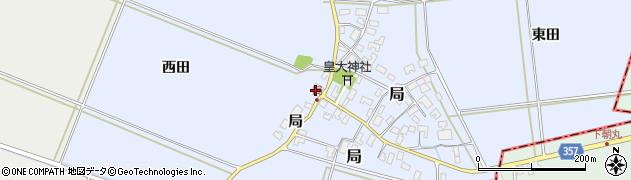 山形県酒田市局局59周辺の地図
