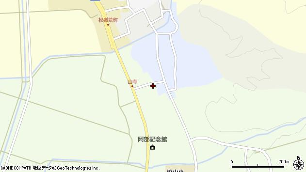 山形県酒田市山寺宅地228周辺の地図