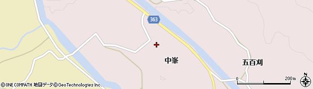 山形県酒田市山元中峯42周辺の地図