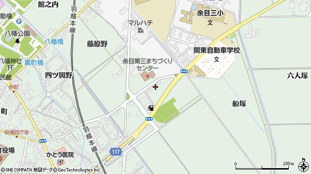 山形県東田川郡庄内町余目月屋敷99周辺の地図