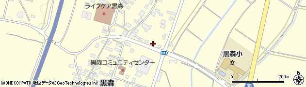 山形県酒田市黒森鏥9周辺の地図