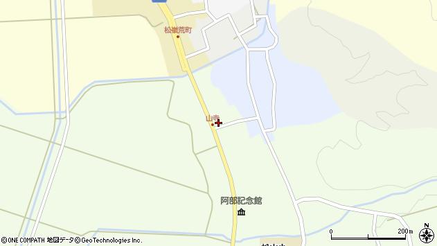 山形県酒田市山寺宅地231周辺の地図