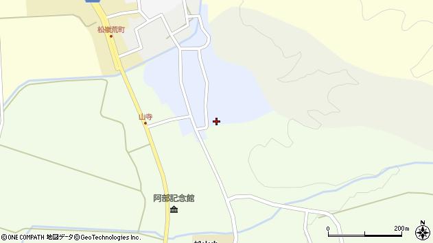山形県酒田市南新屋敷12周辺の地図