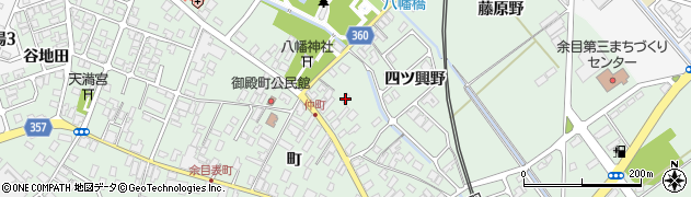 山形県東田川郡庄内町余目町86周辺の地図