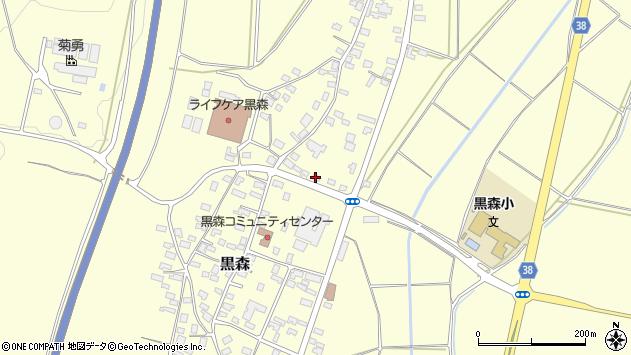 山形県酒田市黒森鏥6周辺の地図